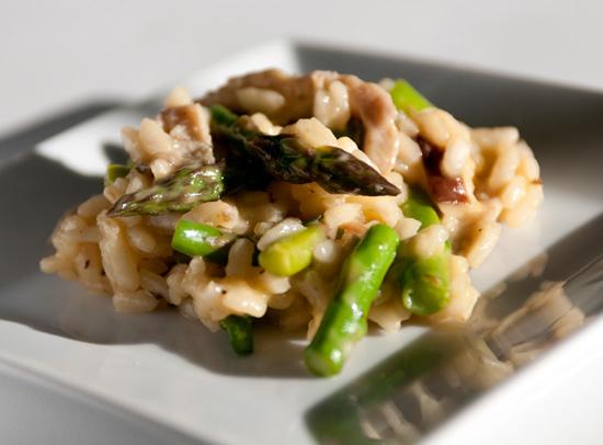 Asparagus Risotto - MyWifeCanCook.com