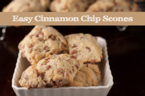 easy cinnamon chips scones recipe