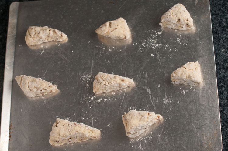 easy cinnamon chip scones ready for baking