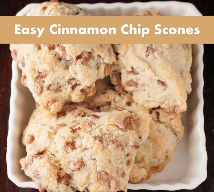Easy Cinnamon Chip Scone Recipe