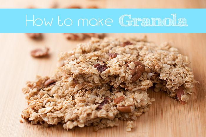 How to make granola with a great homemade granola recipe