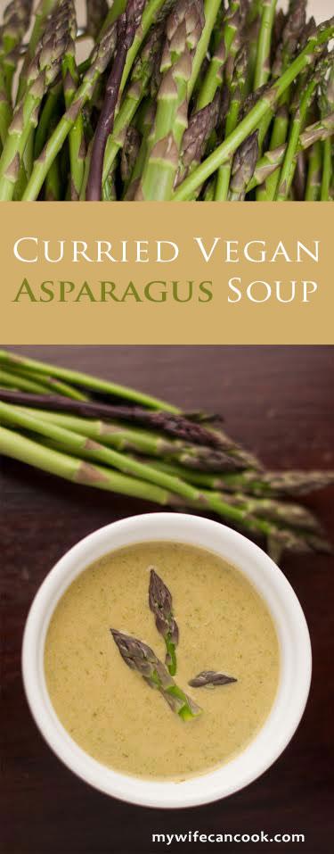vegan asparagus soup