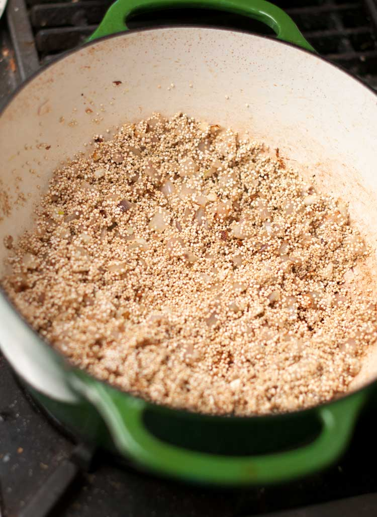 quinoa for risotto