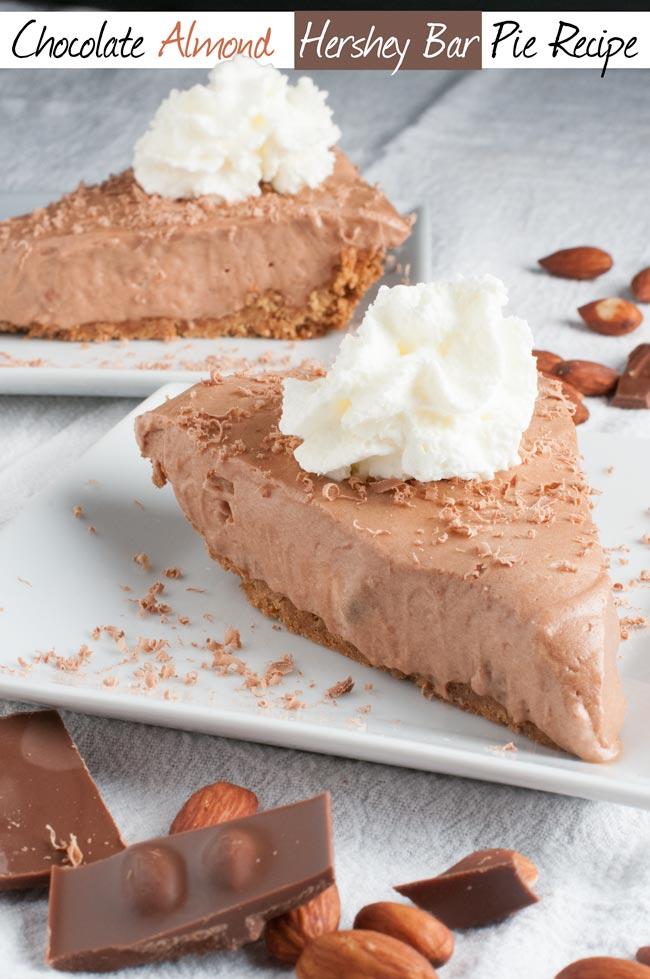 Chocolate Hershey Bar Pie Recipe