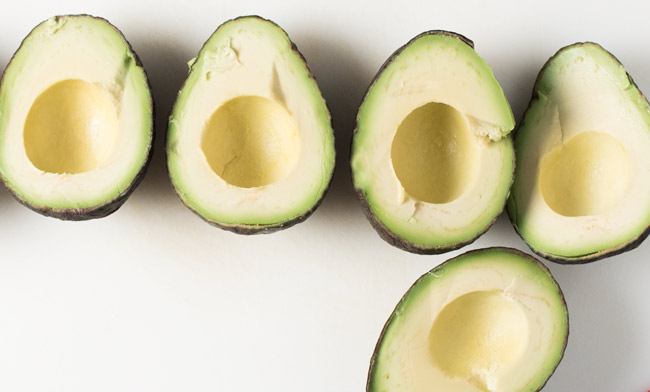 perfect avocados for simple guacamole